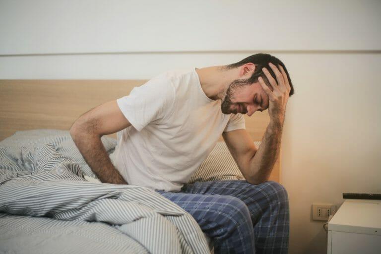homem com uma doença crônica