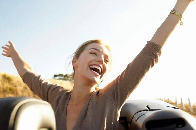 mulher e satisfação com a vida