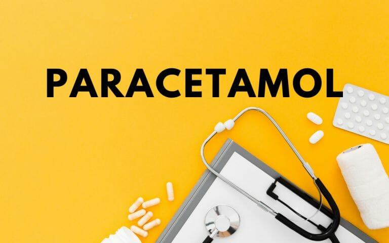 Paracetamol - capa do artigo do medicamento