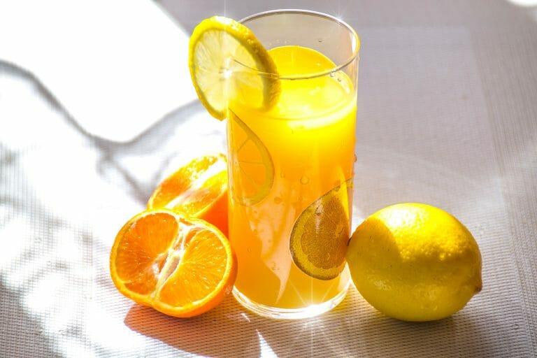 frutas cítricas que contêm a vitamina c