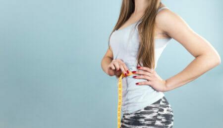 mulher com bulimia